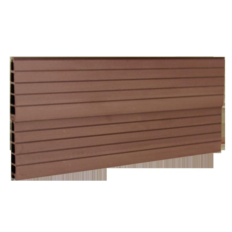 Vedligeholdelsesfrit komposit i Mørkebrun WPC