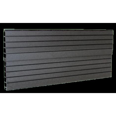 vedligeholdelsesfrit komposit hegns profil i Antracitgrå/ sort